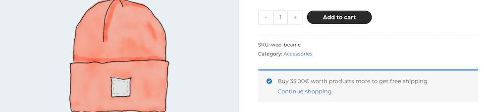 How to Add Free Shipping Notifications (with amount left) to Woocommerce Product and Cart Pages