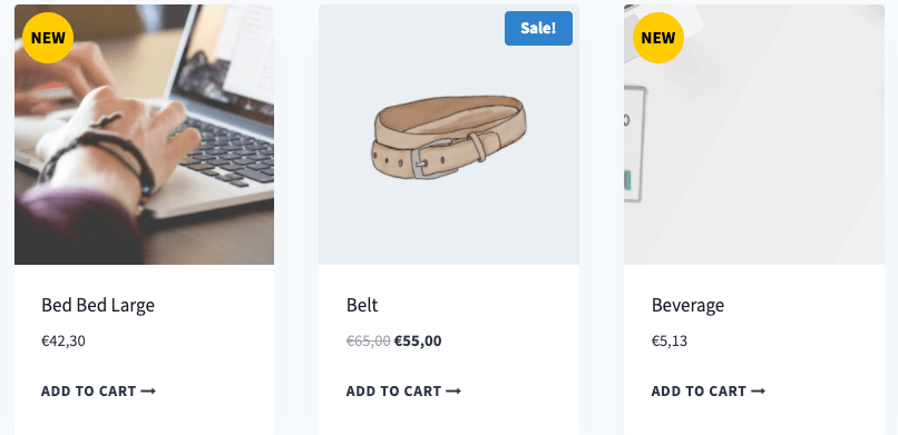 """How to Display """"NEW"""" Badge on Woocommerce Recent Products"""