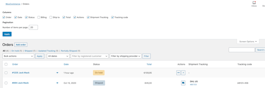 How to Add Shipment Tracking System to Woocommerce?