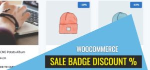 How to Display the Discount Percentage on the Sale Badge?