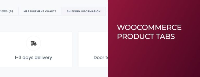 How to create, remove, rename and reorder Woocommerce product tabs?