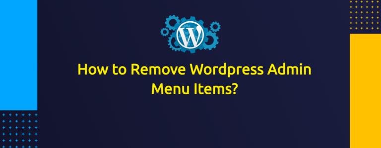 How to Remove Wordpress Admin Menu Items for Specific User Roles?
