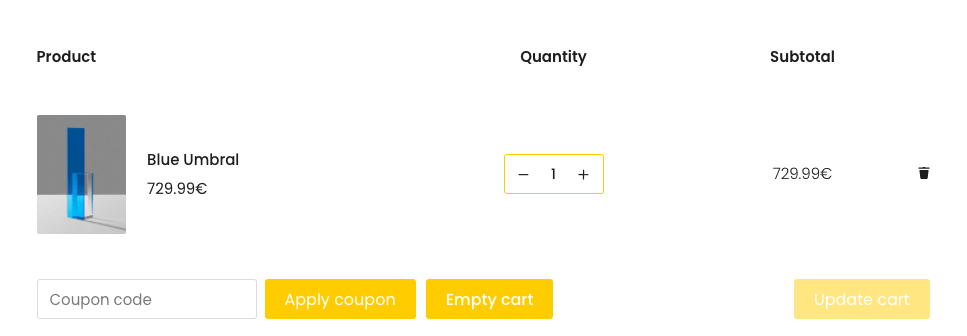 """How to add an """"Empty cart"""" button to Woocommerce cart page?"""