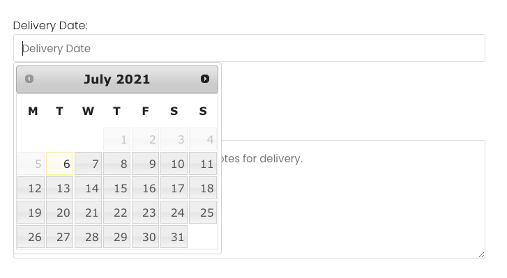 How to Add date picker field in Woocommerce checkout page?